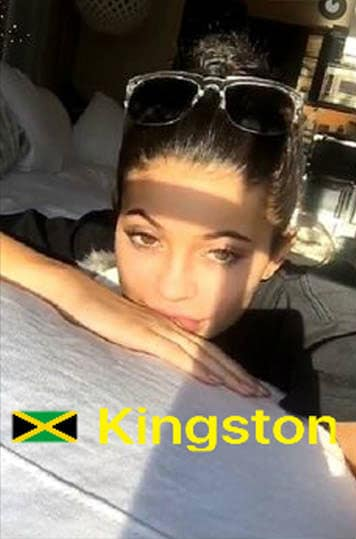 Kylie Jenner in Jamaica
