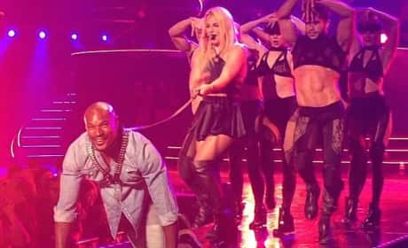 Britney Spears Treats Tyson Beckford Like a Dog