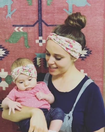 Jinger Duggar and Felicity Vuolo, Twinning