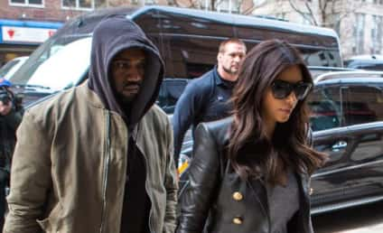Kim Kardashian and Kanye West: NOT Yet Married!