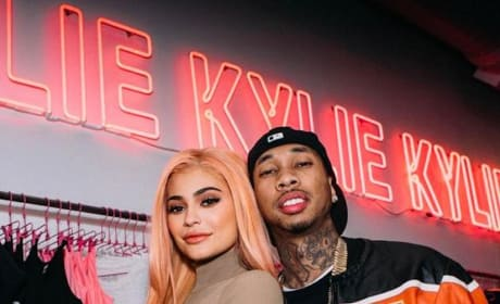Tyga and Kylie Jenner in NYC
