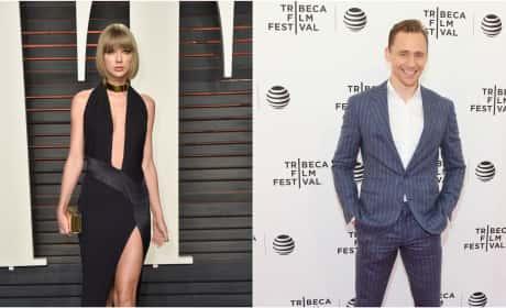 Taylor Swift Tom Hiddleston Split Photo