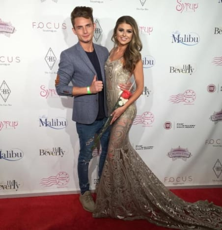 Raquel Leviss, James Kennedy on the Red Carpet
