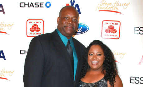Sherri Shepherd and Lamar Sally