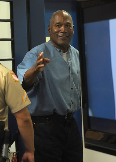 OJ Simpson in the Slammer
