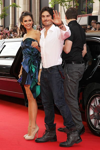 Ian Somerhalder and Nina Dobrev Picture