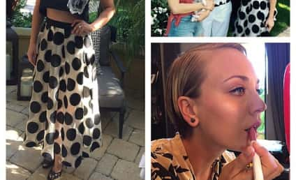 Kaley Cuoco: Check Out How NOT Pregnant I Am!
