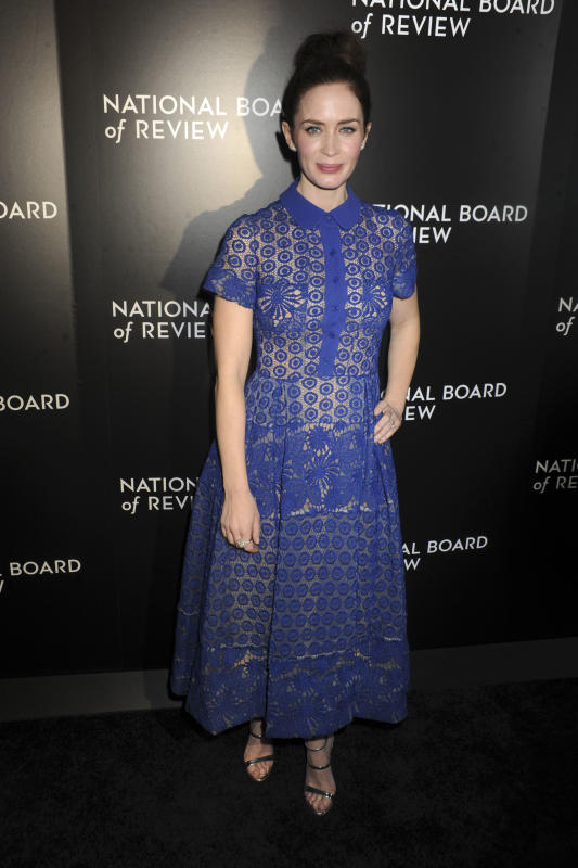 Emily Blunt: 2015 National Board of Review Gala