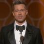 Brad Pitt at the Globes