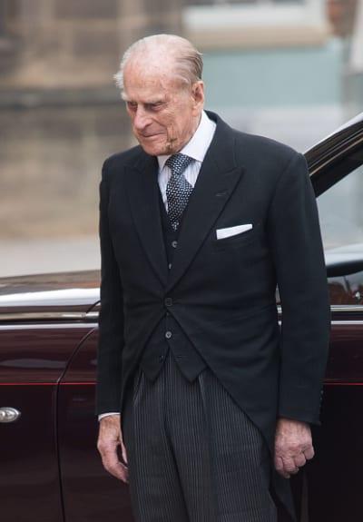 Prince Philip Walks