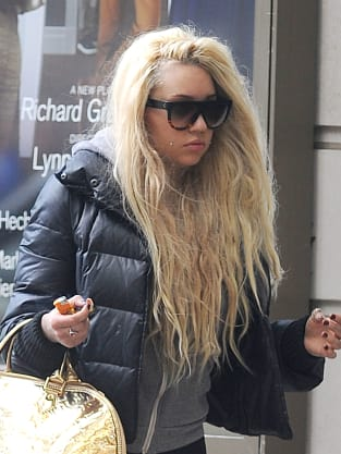Amanda Bynes on the Street
