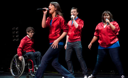 Chris Colfer and Lea Michele React to Glee Ousting