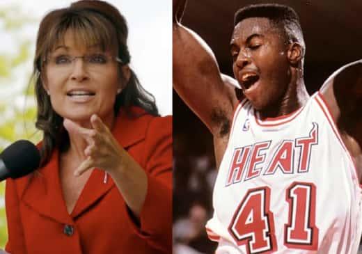 Sarah Palin and Glen Rice