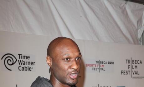Lamar Odom Interview Pic
