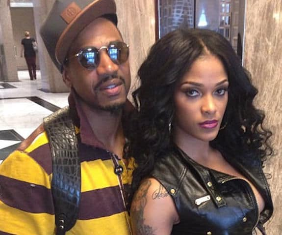 Stevie J and Joseline on Insta