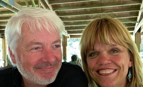 Chris Marek and Amy Roloff at Chris' Family Reunion
