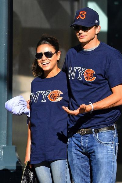 Ashton Kutcher and Mila Kunis Match