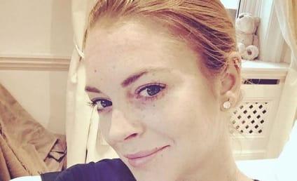 Lindsay Lohan Posts Makeup-Free Selfie, Remains Freckly