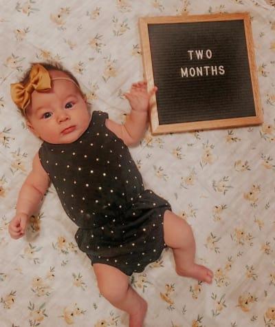 Layne DeBoer is 2 Months Old