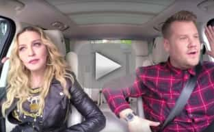 Madonna and James Corden: Carpool Karaoke Time!!!