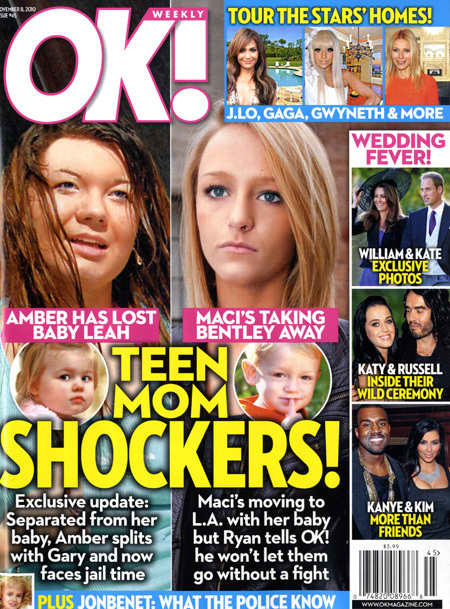 Amber Portwood and Maci Bookout