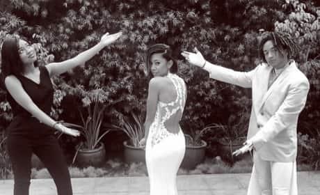Jaden Smith Prom Photo
