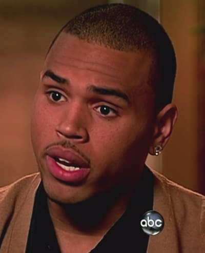 Angry Chris Brown Picture