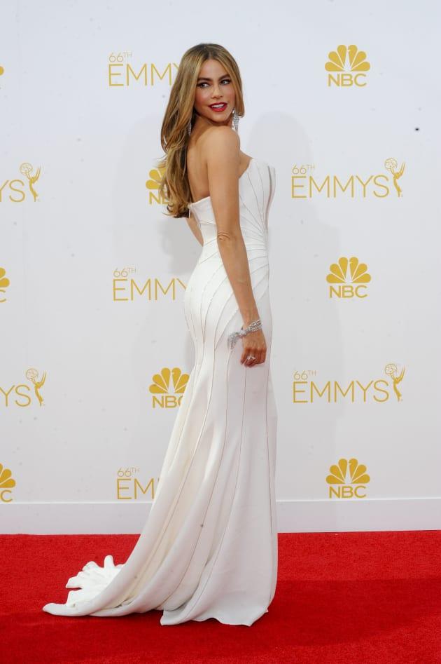Sofia Vergara at the 2014 Emmys