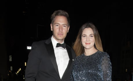 Drew Barrymore and Will Kopelman: ACRIA Holiday Dinner