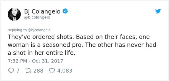 A shot really
