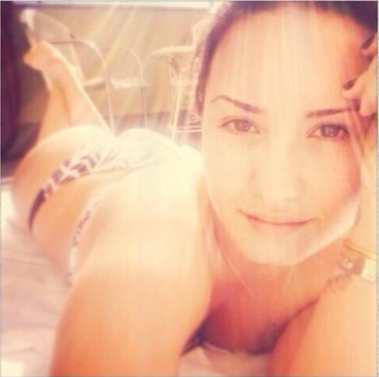 Demi Lovato in a Bikini