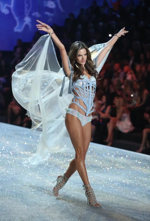 Alessandra Ambrosio for Victoria's Secret