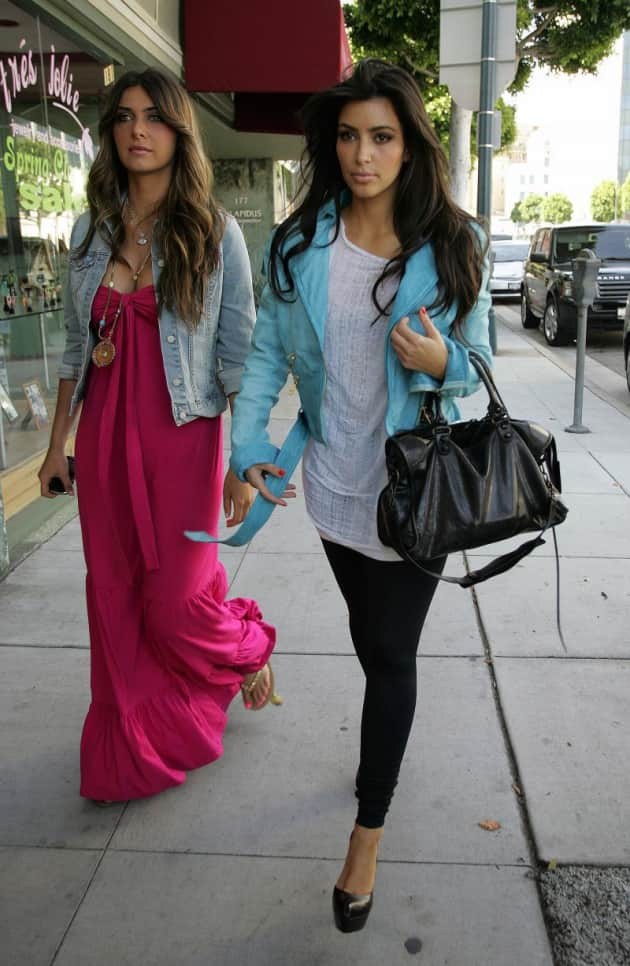 Kim and Brittny Shopping