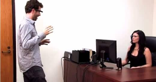 Google Glass Adult Film Photo