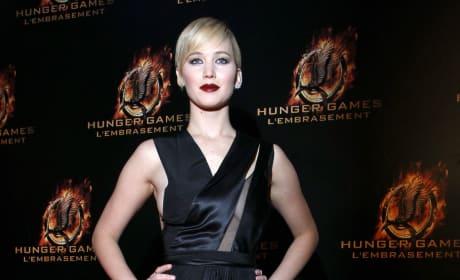 Jennifer Lawrence in Paris, France