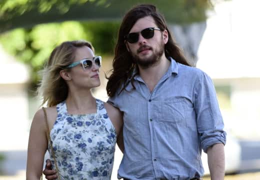 Winston Marshall and Dianna Agron
