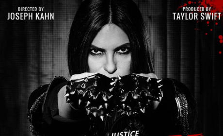 "Mariska Hargitay ""Bad Blood"" Poster"
