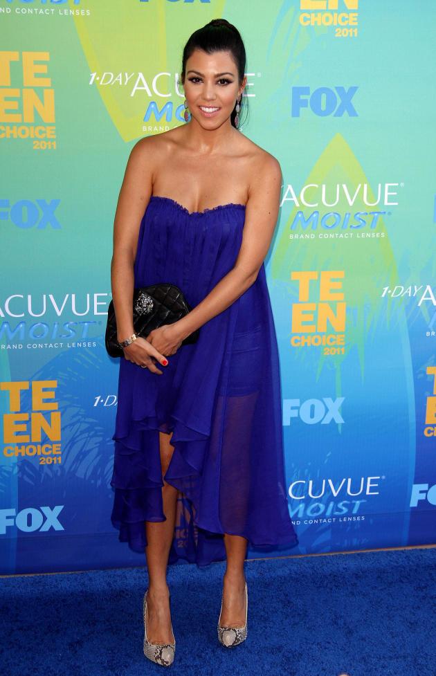 Kourtney Kardashian at the TCAs