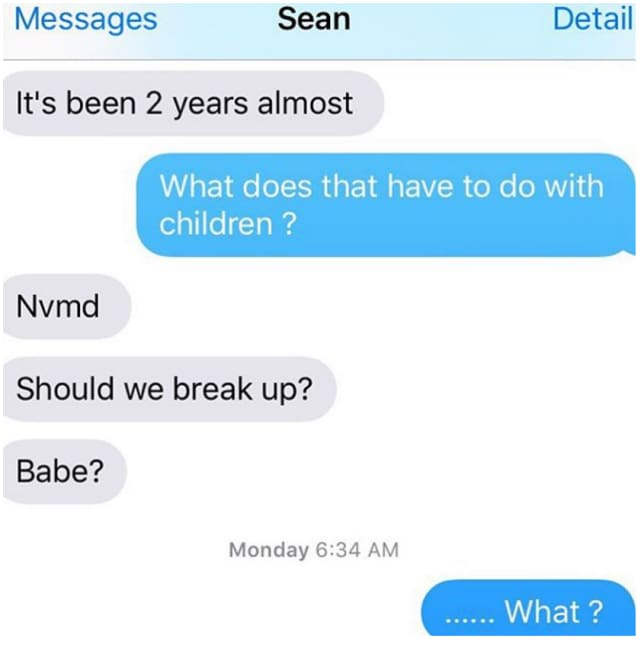 how to know if i should break up