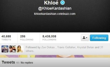 "Khloe Kardashian Axes ""Odom"" from Twitter Profile"