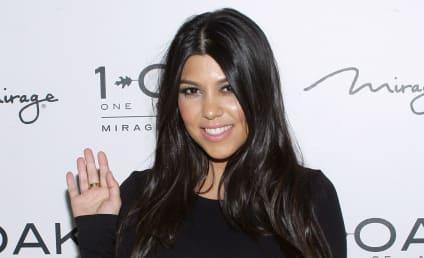 Kourtney Kardashian: Naked for Vanity Fair!