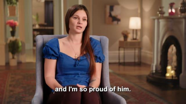 Julia is so proud of Brandon