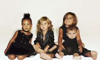 Kardashian Christmas Card: Where's the Rest of the Family?!