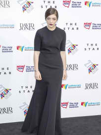 Lorde on the Red Carpet