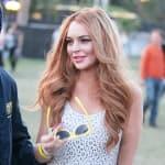 Lindsay Lohan, Yellow Sunglasses