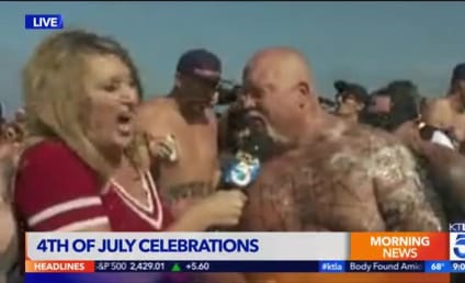Reporter Gets Puked On (A LOT!) During Live Broadcast