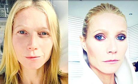 Gwyneth Paltrow Makeup-Free
