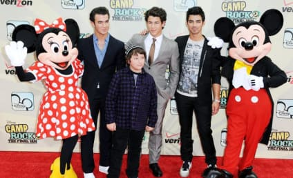 Camp Rock 2 Premiere Pics: Jonas Bros, Demi Lovato, Mickey Mouse and More!