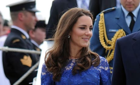 Kate in a Blue Dress