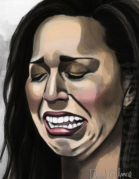 Farrah Crying Portrait